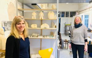 Foto Bettina Thierig und Susanne Adler